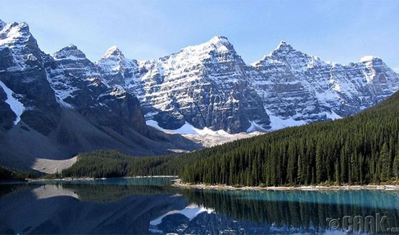 Бэнфф (Banff)-ийн үндэсний цэцэрлэгт хүрээлэн, Канад улс