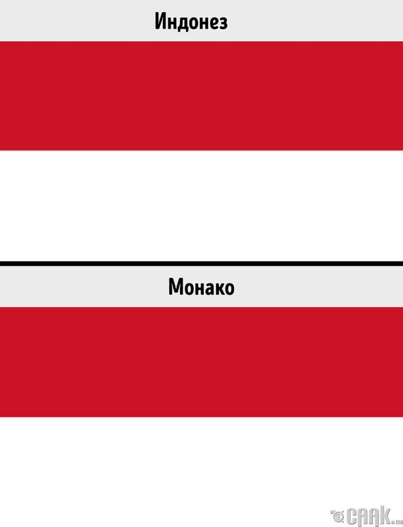 Индонез, Монако