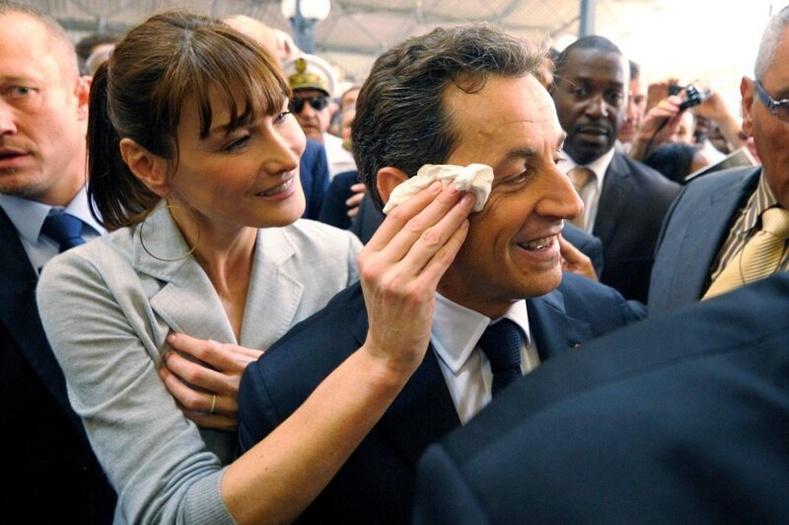 Бруни болон Саркози