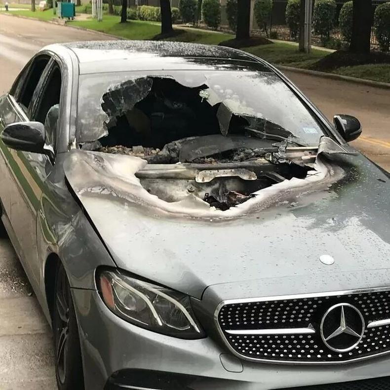 """""""Машин аянганд цохиулдаг гэж бодсонгүй явлаа."""""""