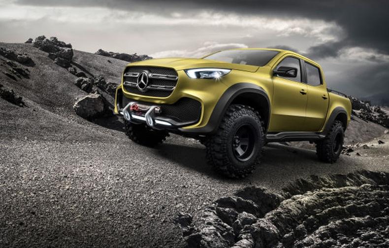 """Mercedes Benz """"Pickup"""" жийп үйлдвэрлэхээр болжээ"""