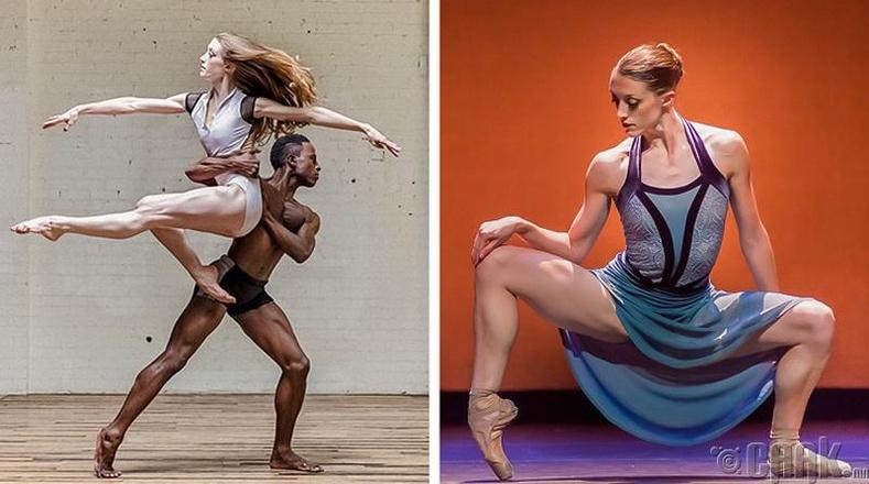 Яагаад зарим балетчид булчинлаг харагддаг вэ?