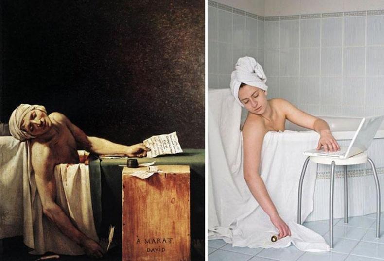 Алдартай уран зургууд бодит амьдрал дээр...