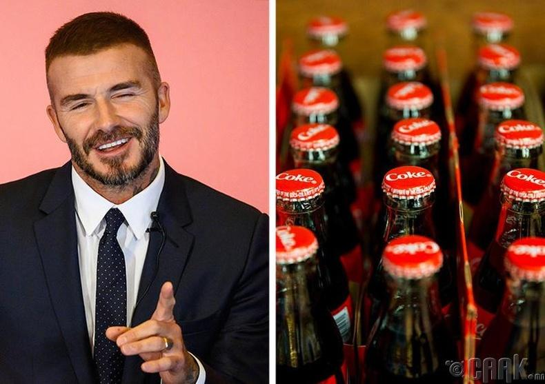 Дэвид Бекхэм (David Beckham) хос зүйлст дуртай