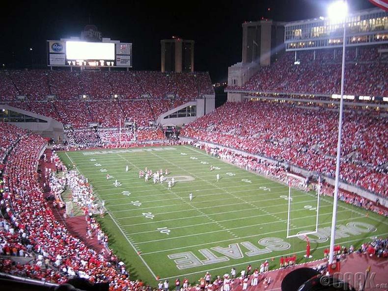 Огайо (Ohio Stadium), АНУ