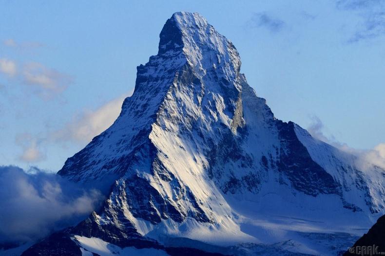 Бид бодохдоо: Европын хамгийн өндөр оргил бол Маттерхорн (Matterhorn)
