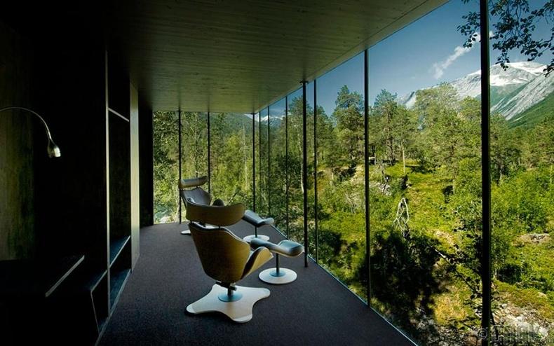 """Juvet Landscape"" ресорт, Норвеги"