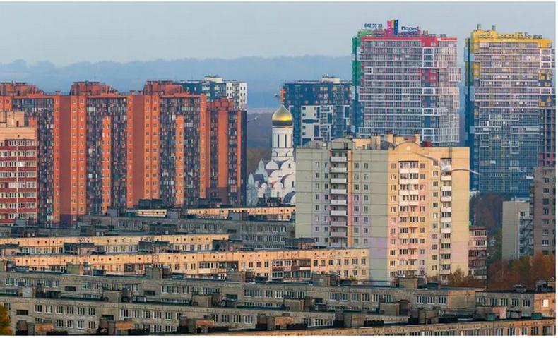 Ядуусын болон баячуудын хороолол - Санкт-Петербург