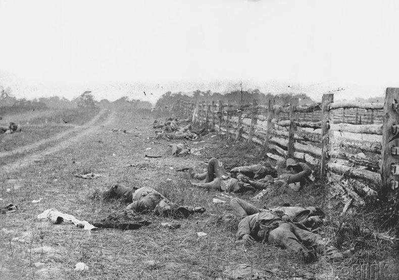 Энититэм (Antietam) дэх үхэл (1862 он)