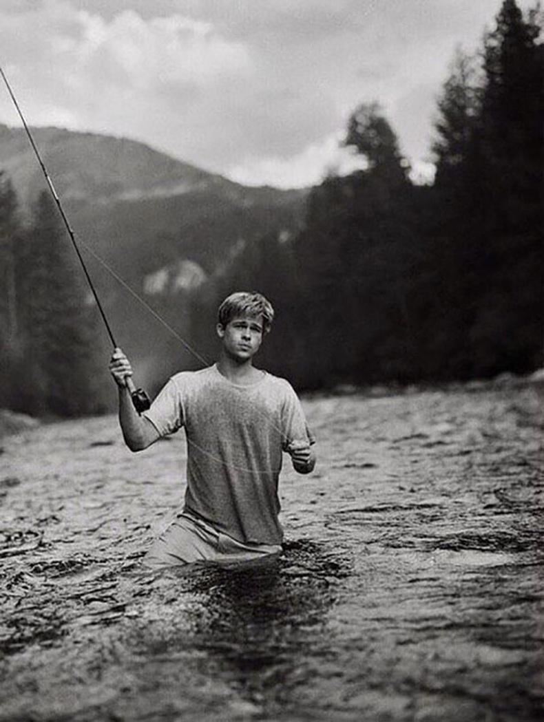Загасчилж буй Брэд Питт - Монтана муж, 1992