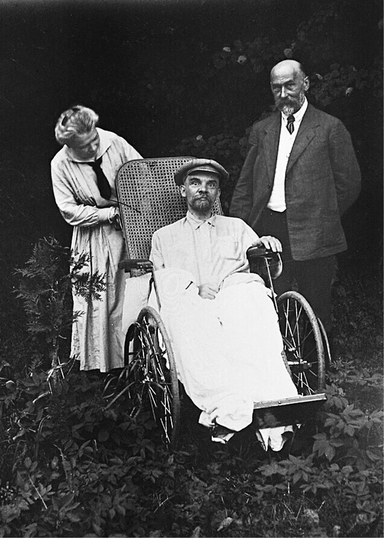 Владимир Лениний сүүлчийн гэрэл зураг