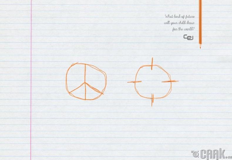 Хүүхэд тань дэлхийн ирээдүйг яаж төсөөлж зурах бол?