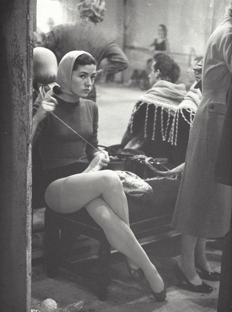 Парисын дуурийн театр буюу Opera Garnier-ийн баллетчин, 1950-аад он.