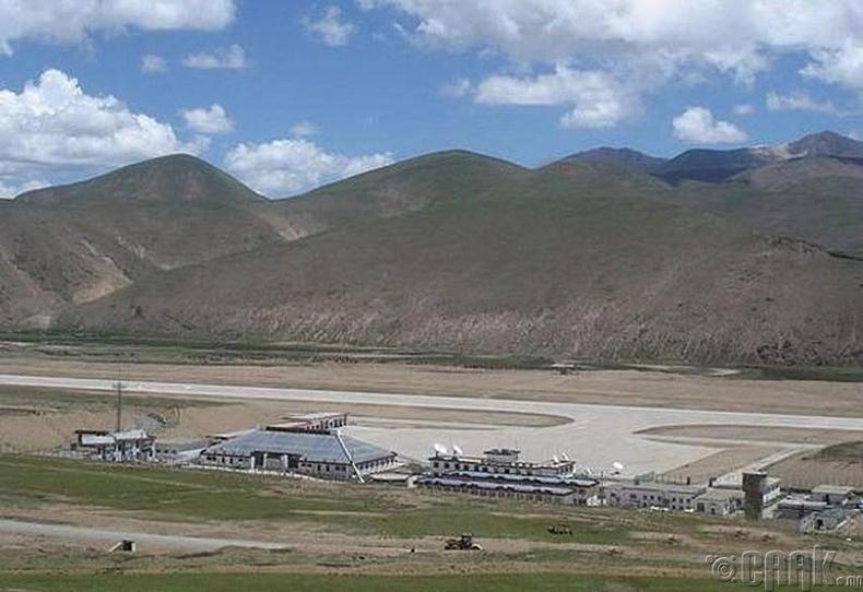 """""""Бамда"""" нисэх онгоцны буудал, Төвд"""