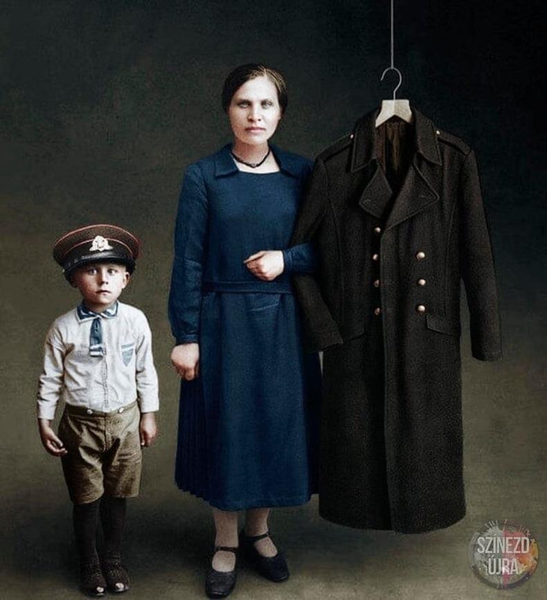 Дэлхийн I дайны үеийн гэр бүлийн хөрөг