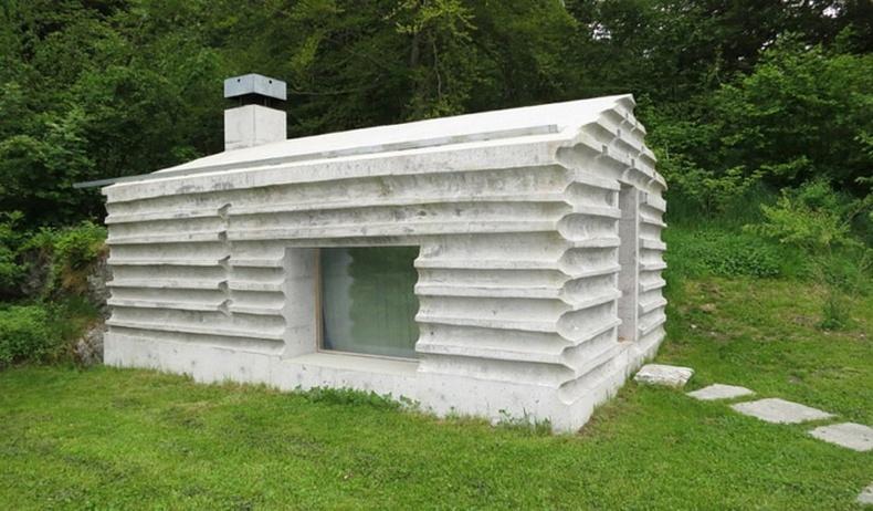 Ой дундах өвөрмөц байшин