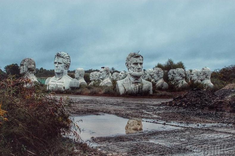 АНУ-ын Ерөнхийлөгч нарын цээж баримлууд - Виржини мужийн хөдөө нутагт