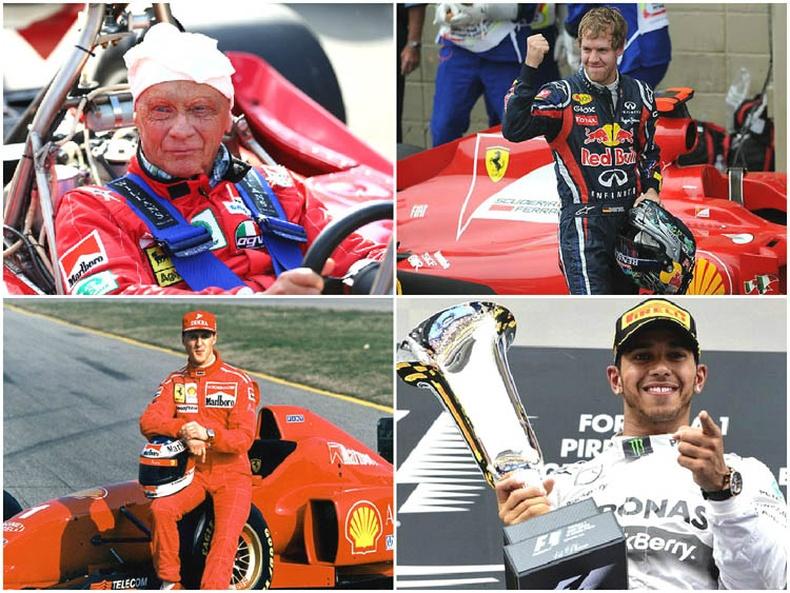 """""""Формула 1""""-ийн хамгийн алдартай нисгэгчид"""