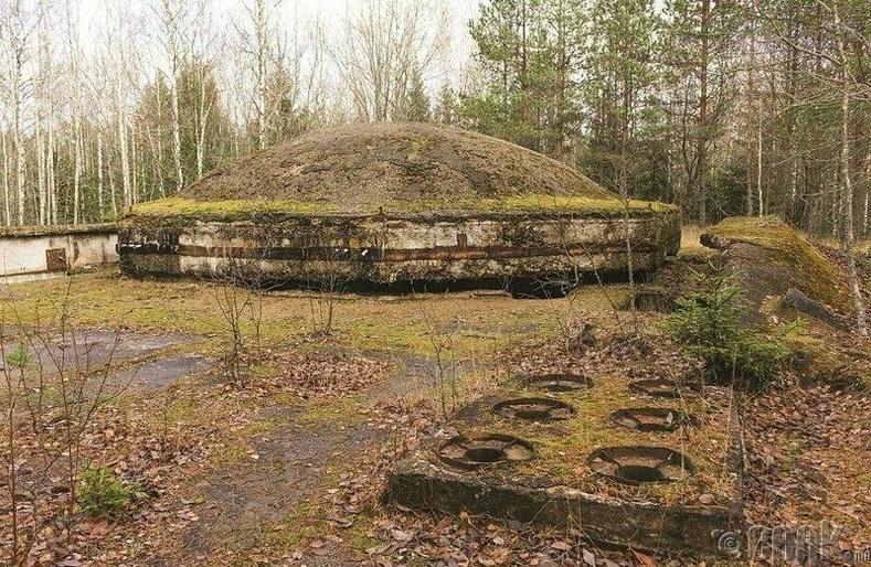 Латви дахь цөмийн нууц байр