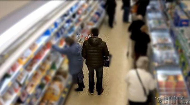 Супермаркет дотор