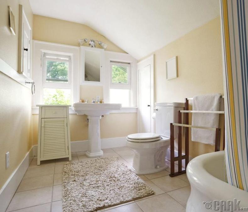 Угаалгын өрөө бохир байх