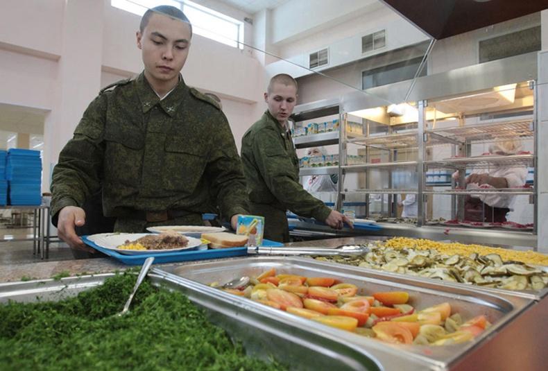 Орос цэргүүд ямар хоол иддэг вэ?