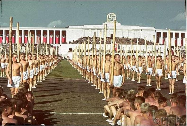Нацст намын цуглаан, Нюрнберг - 1938 он