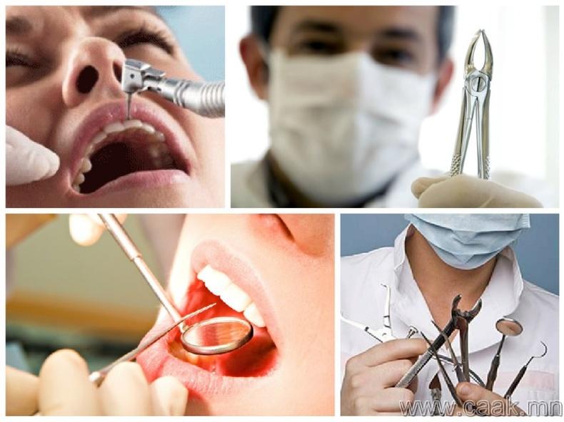 Шүдний эмч дээр очих