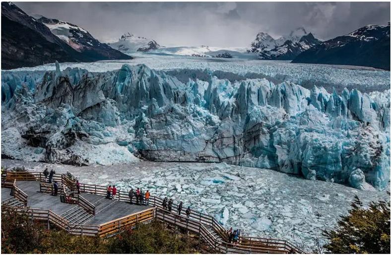 Перито мөсөн хавцал - Аргентин