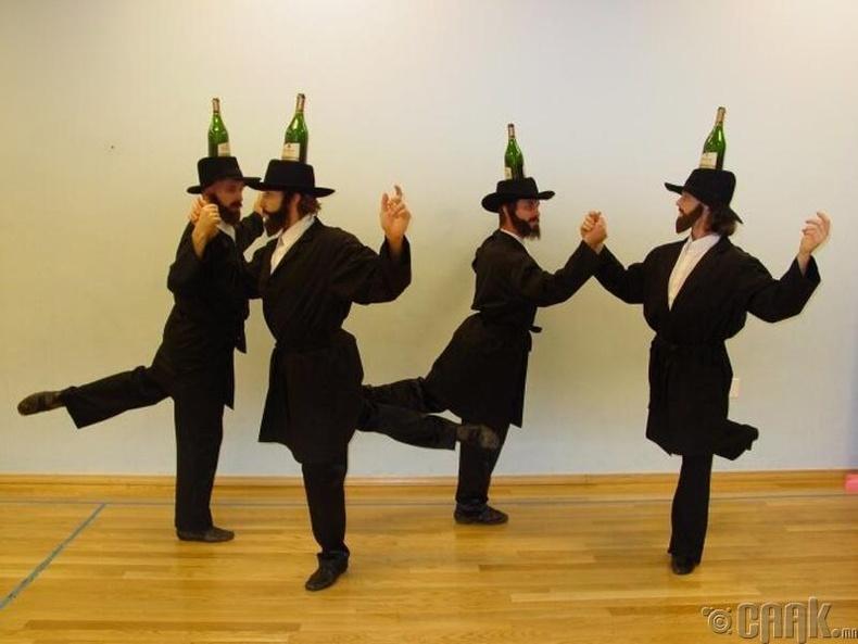 Еврейн уламжлалт бүжиг
