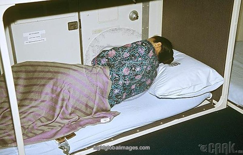 """""""Нислэгийн туршид шөнө онгоцонд унтаж чадах уу?"""""""