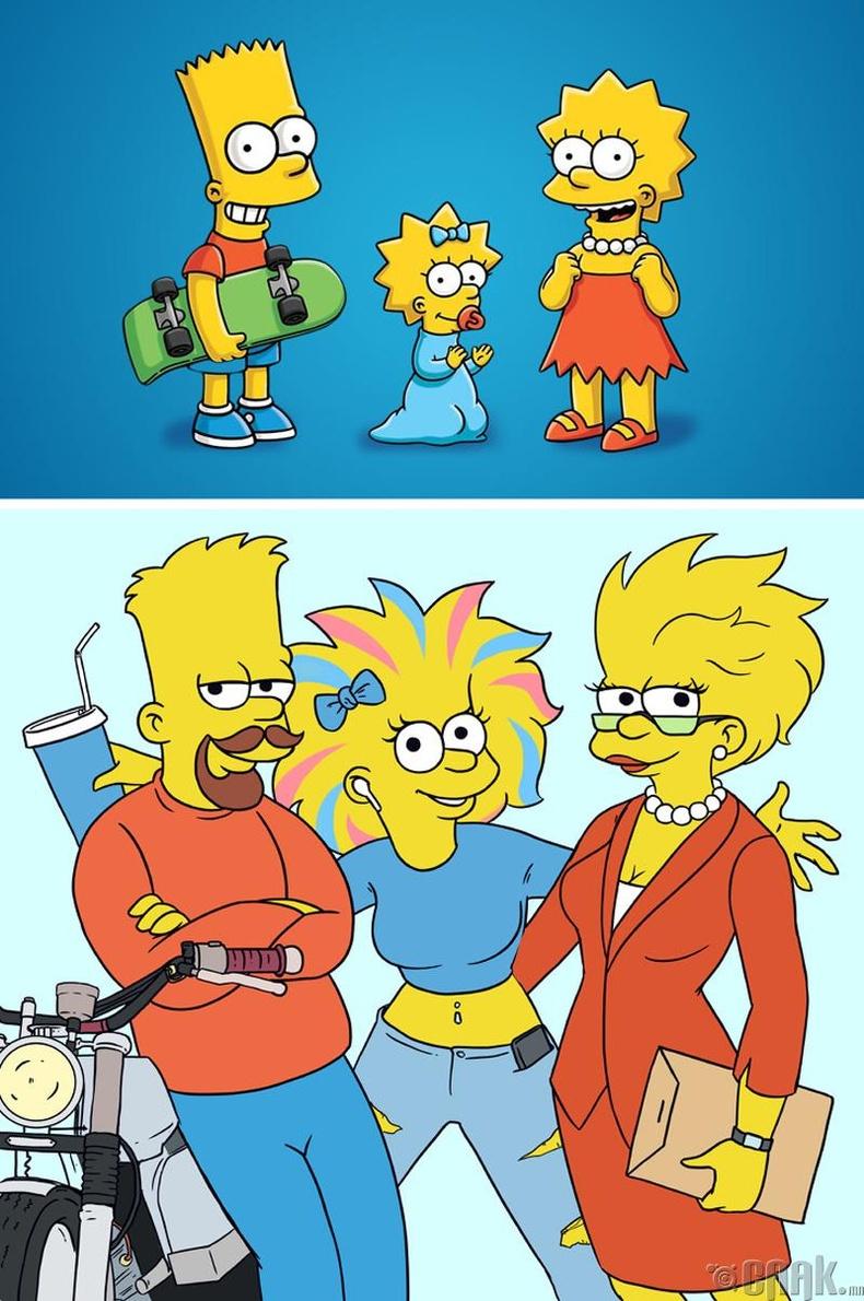 Барт, Лиза, Мэги (The Simpsons)