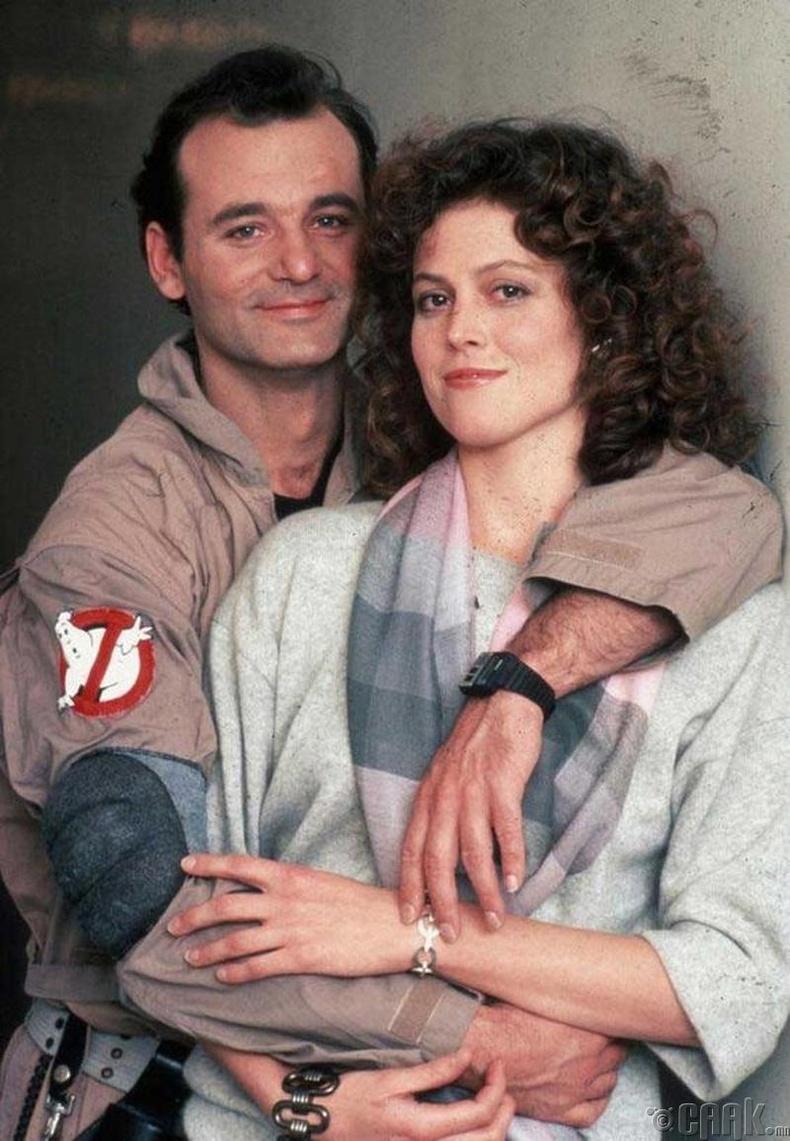 Жүжигчин Билл Мюррэй (Bill Murray), Сигурни Уивер (Sigourney Weaver) - 1984 он