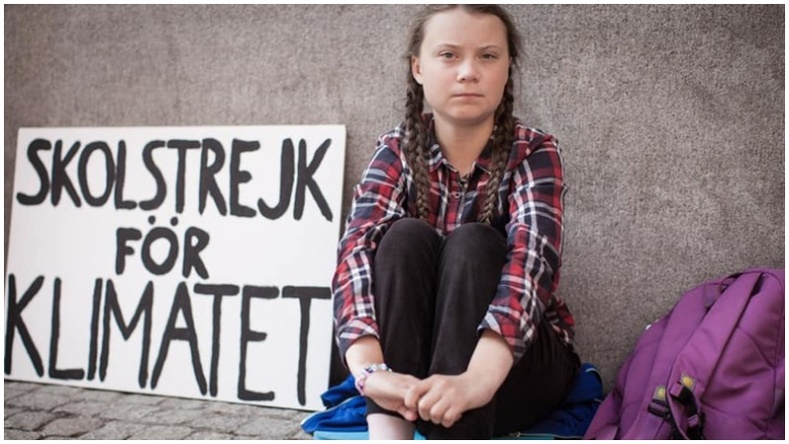 16 настай Швед охин Нобелийн шагналд нэр дэвшлээ