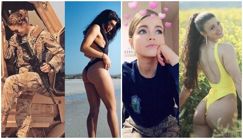 Цэрэг бүсгүйчүүдийн халуухан зургууд