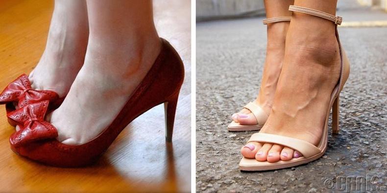 Элдэв зангиа (бантик)-тай гутал