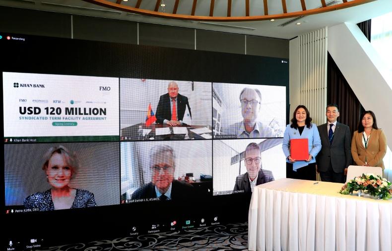Нидерландын Хөгжлийн банкнаас ХААН Банканд 120 сая ам.долларын, урт хугацаат зээлийн санхүүжилт олголоо