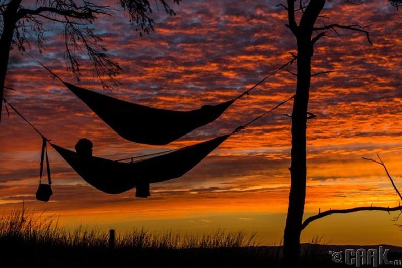 Хангалттай унтаж амрах