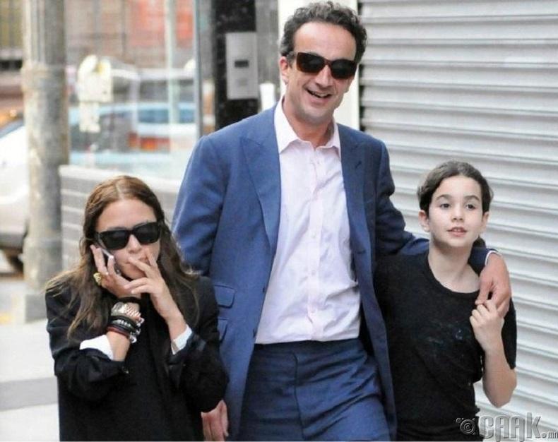 Мэри-Кейт Олсен болон Оливиер Саркози: 158см, 190см