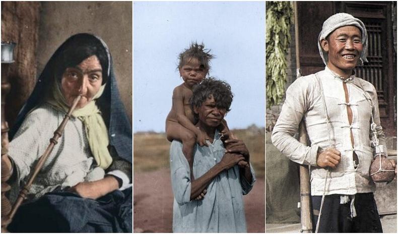 Дэлхийн олон үндэстэн 20-р зууны эхэнд... (Өнгө оруулсан түүхэн зургууд)
