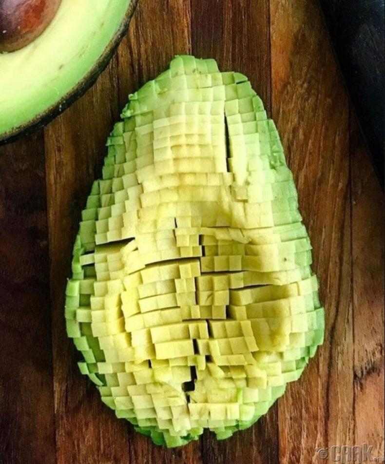 Авокадо пиксел