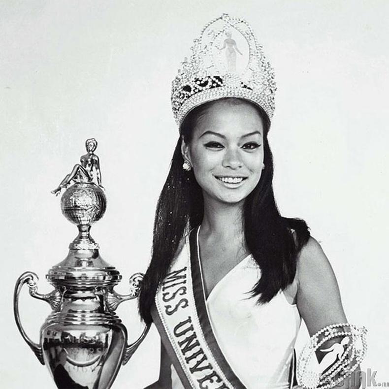 """""""Miss Universe-1969""""-ын ялагч: Филиппиний гоо бүсгүй Глория Мария, 18 настай, 165 см өндөр."""