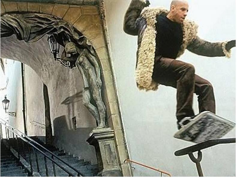 """XXX: Return of Xander Cage"""