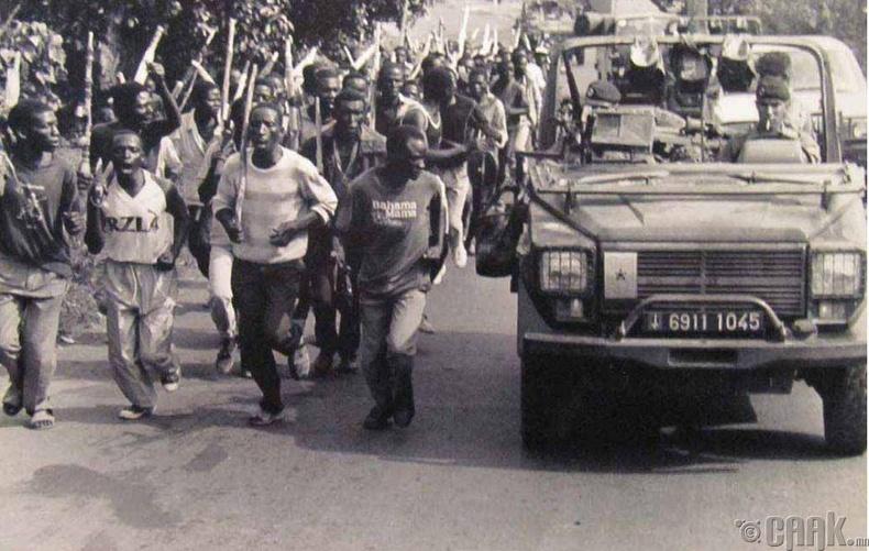 Руандад болсон хоморголон устгах ажиллагаа