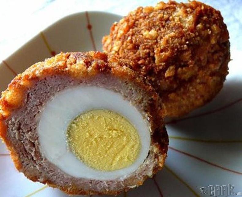 Өндөг, махан ороомог