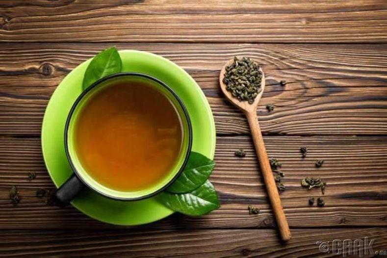 Нэг аяга ногоон цай эсвэл кофе уух