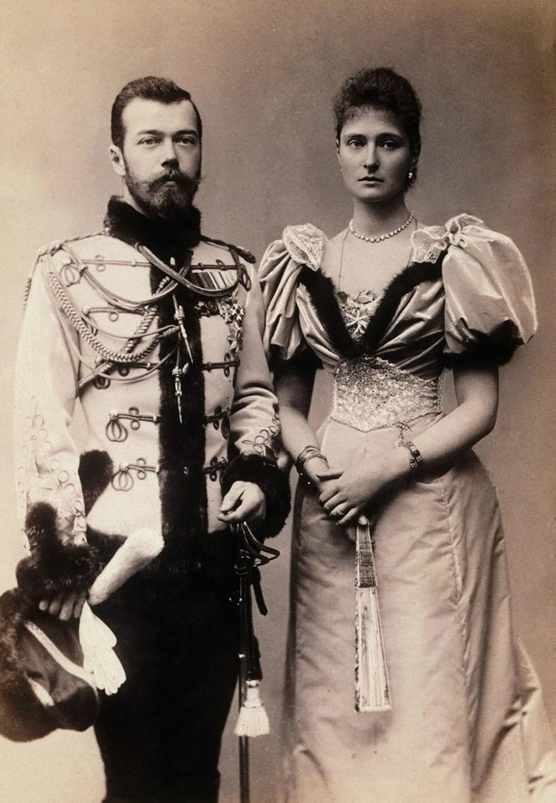 II Николай болон Александра Федоровна