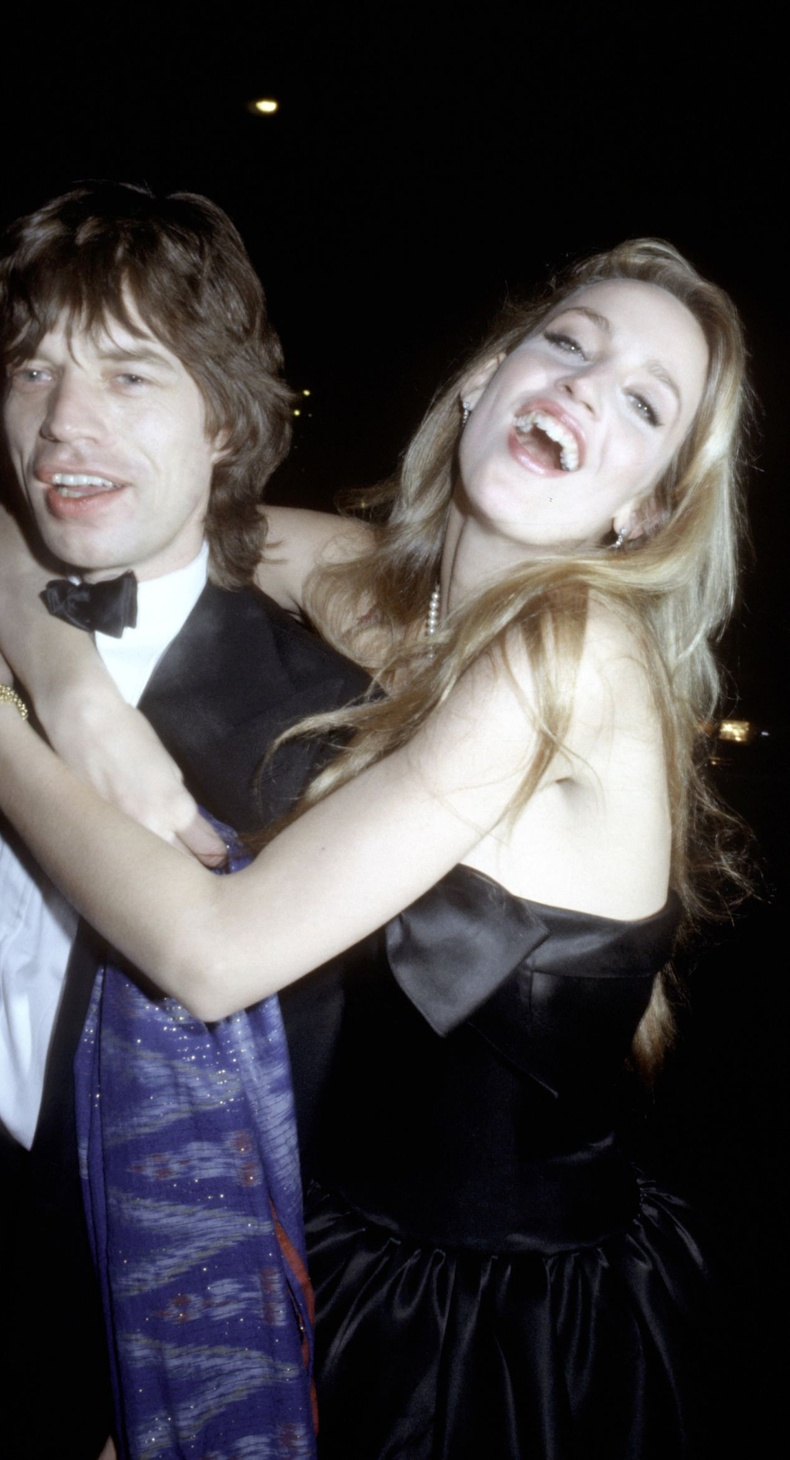 Мик Жаггер болон Жерри Холл, 1979 он.