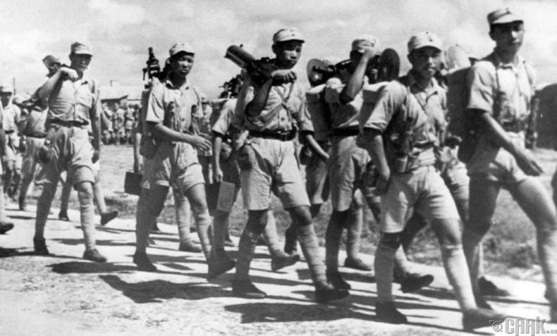 """""""Ичи-Го"""" ажиллагаа, 1944 он (1.3 сая хүн амиа алдсан)"""