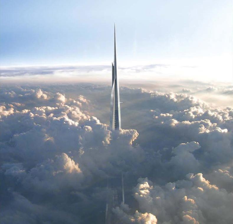 Дэлхийн хамгийн өндөр барилга баригдаж эхэллээ